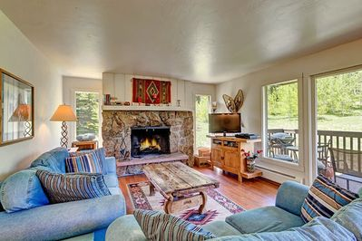 Living Room - Welcome to Vail! This home is professionally managed by TurnKey Vacation Rentals.