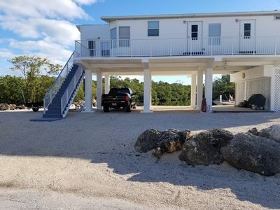 Photo for Creek front house  in the clouds! RV and boat trailer parking. Access bay ocean