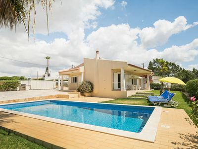 Photo for Lively holiday home in Albufeira with private pool 500m from the beach