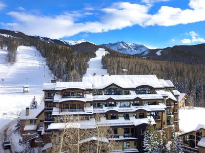 Photo for Ski-in/Ski-Out Residence with Village Views | Access to Hot Tub