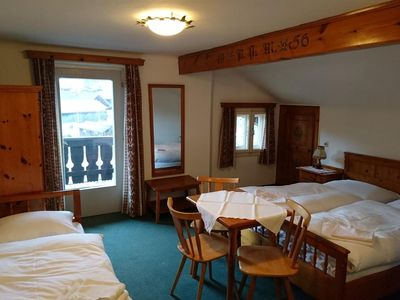 Photo for Triple room with fl. Water - Alpenblick, guesthouse
