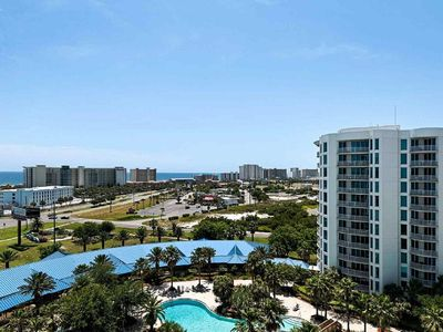 Photo for SPECTACULAR VIEWS OF THE GULF & LAGOON POOL FROM YOUR 10th FLOOR BALCONY!!!