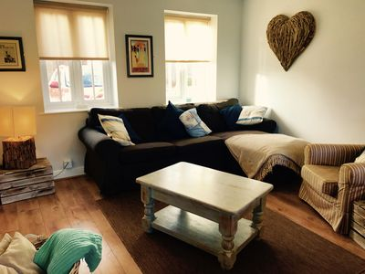 Photo for Shell Cottage luxury seaside retreat, dog friendly, close to beach, indoor pool