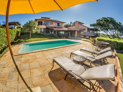 Photo for Mansion with Five Suites Overlooking Ferradura Beach
