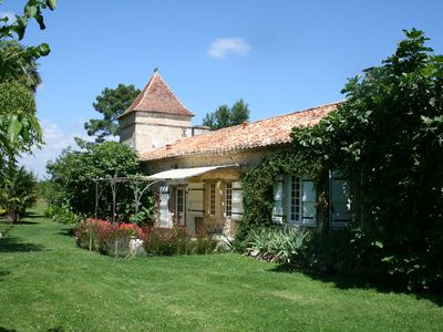Photo for Gardette in Albret: cottage **** Charm, authenticity, comfort, quiet country