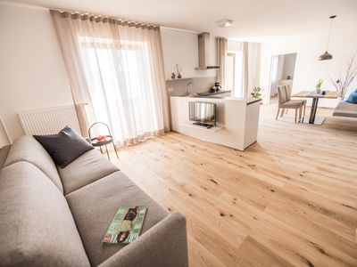 Photo for Beautiful, quiet and spacious apartment with stunning views over Bressanone