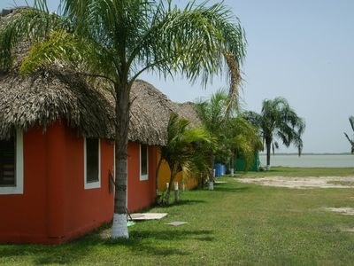 Photo for Beautiful Cabins along Soto La Marina River