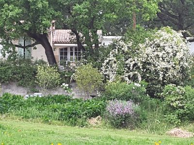 Photo for Provencal farmhouse near the sea, lush greenery for nature lovers