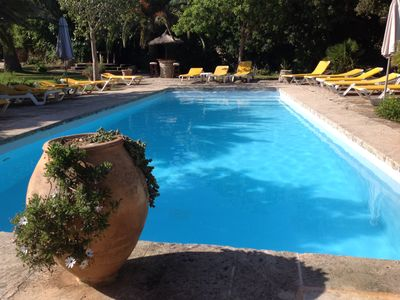 Photo for Historic country house with pool and large garden - rental licenses since 2010