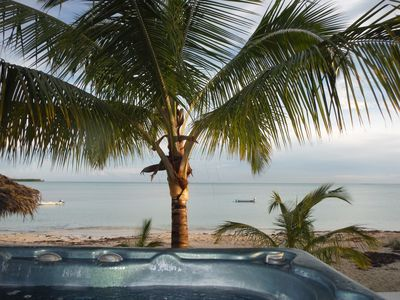 Relax in Kokomo's hot tub with a cocktail and this FABULOUS view!