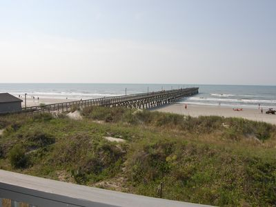 Photo for Oceanfront condo - Private Fishing Pier!