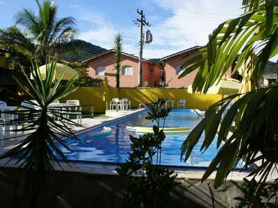 Photo for Res. Pousada Lugar Comum, 16 Apts and 2 Chalets, 2 swimming pools, sauna / barbecue