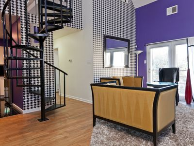 Photo for Downtown 3 Bedroom Condo In The Heart Of Everything With Sleeping For 8-10.