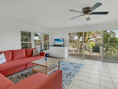 Photo for Updated Beachside Corner-Unit 2BR w/ Pool & Private Wraparound Balcony