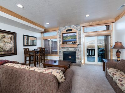 Photo for Lakeside 72 - Snowbasin Lodging  Beautiful Ogden Valley Condo