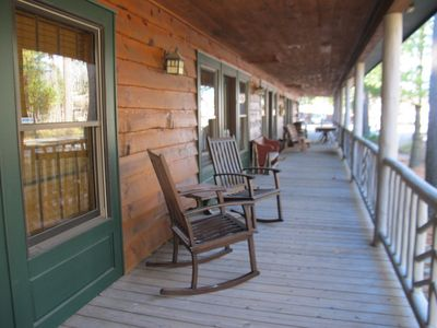 Photo for Right in the village of Oquossoc.   Great place to stay while you explore the Rangeley area.