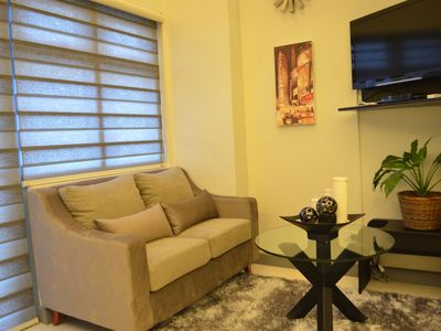 Photo for A New Luxurious One Bedroom Loft Apartment - 3 Minutes Walk To Greenbelt Mall