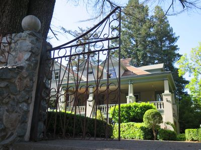 Photo for Historic 9-Bedroom Queen Anne Victorian Inn, blocks from Healdsburg Plaza