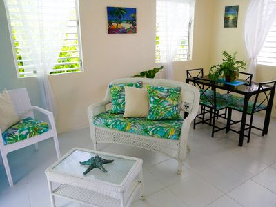 Photo for Beachside Apartment #2 - steps from the beach!