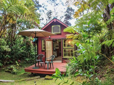 Photo for Romantic Rainforest Cottage with Private Garden