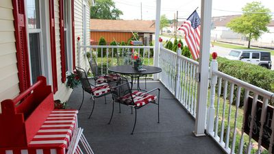 Photo for Beautiful apt with Historical Charm right by The Lighthouse Outlet Mall In Town