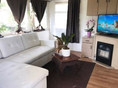 Photo for Superb mobile home in camping 4 *