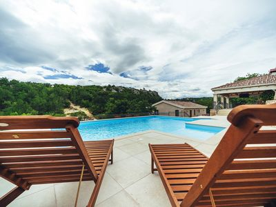 Photo for ctim241 -Modern furnished holiday home wih a private pool in Imotski - Makarska, detached house, ideal for 8+3 persons, wi-fi, AC- Luxury Villa Borak