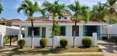Photo for New Listing - Renovated 3 bedroom House with Pool, 5 minute walk to the Beach