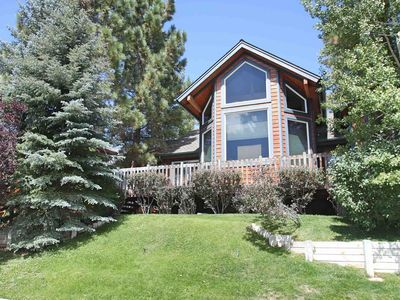 Photo for Dream Catcher: Mountain Views! Fenced Yard! Luxury!Gas Fireplace!