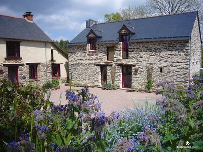 Photo for Furnished cottage 6 people on the outskirts of Brittany Brocéliande outdoor pool