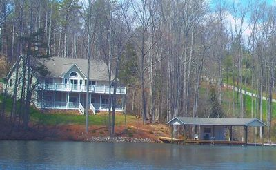 Photo for Waterford Retreat: 6 bedrooms, 1500 sq foot boathouse, media room & more!