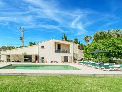 Photo for Can Reiet - This Villa includes a private pool, WI-FI & close to local amenities