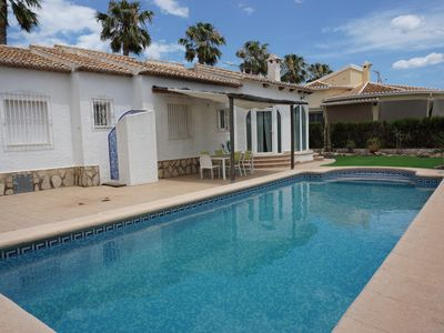 Photo for Villa for 6 people with private pool and private parking at 250 from the village