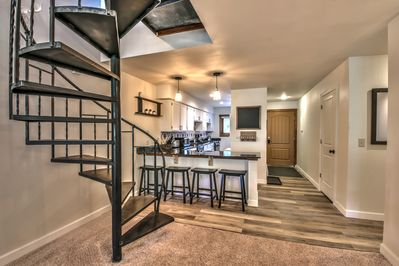 Open concept living/dining/kitchen makes family gatherings so much better!