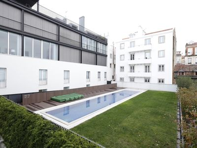 Photo for Three-Bedroom Apartment with Pool and Sauna