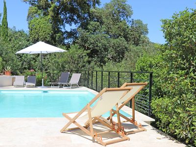 Photo for Nice villa two steps from Grimaud-Village with swimming pool and very nice view