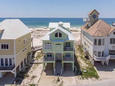 Photo for Gorgeous house on the direct beachfront!