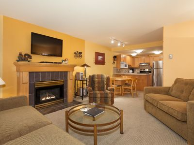 Photo for Woodrun Lodge #214   1 Bedroom + Den Ski-In/Ski-Out Condo, Shared Hot Tub