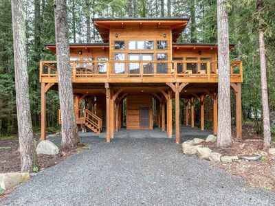Photo for New and Modern Cabin With Stunning Views of Mt. Baker