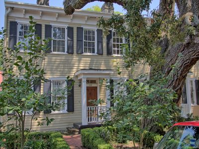 Photo for Charming Savannah Home Right on Historic Jones Street