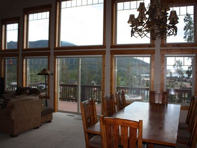 Photo for Spacious Family Home In Town With Spectacular Lake And Mountain Views