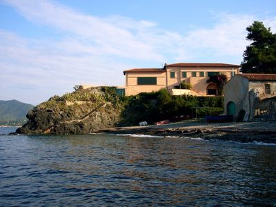 Photo for Stunning Elba seaside villa apartment on Procchio Bay