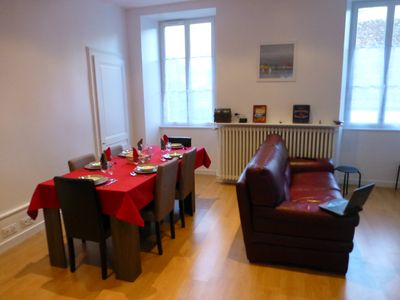 Photo for La Lumineuse: A Spacious And Bright Apartment With a View in the Heart of Jura