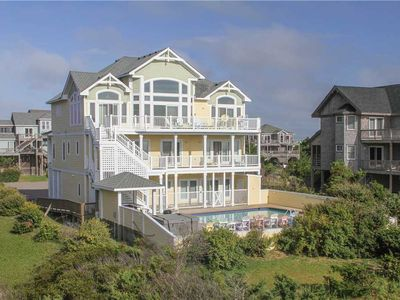 Photo for OCEANFRONT in Avon w/Htd Pool&HotTub, Elevator, RecRm