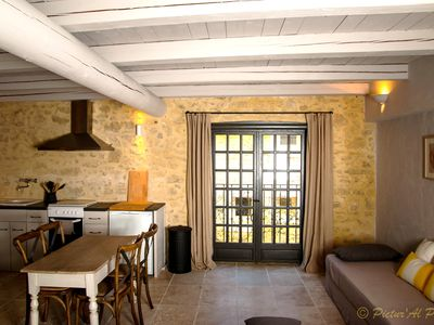 Photo for Domaine Le Bercail cottage Roumanin, in the countryside, in Provence, vineyards, wineries