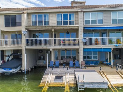 Photo for 5 Bedroom Lake LBJ Waterfront Townhouse Steps from HSB Resort