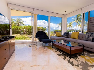 Photo for Corner Ground Floor Unit by the Beach Club and Pool in The Elements by BRIC