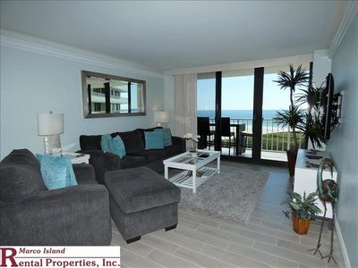 Photo for South Seas T4-1805; Updated beautifully with island and beach view.  Free Wifi, HD TV's, Beach Equipment.