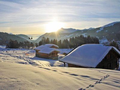 Photo for Chalet located in the hamlet of Gibannaz 1300m from the village center, on the ski slopes. Calm place