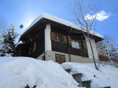 Photo for Chalet in Grächen, on Sunday. Plateau, unspoilt location, all active Sun